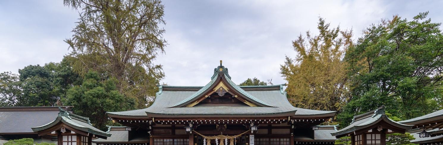 Aso Uchinomaki Onsen, Japāna