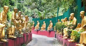 دير العشرة آلاف تمثال بوذا