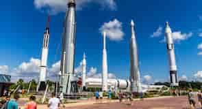 Exposición de misiles Rocket Garden