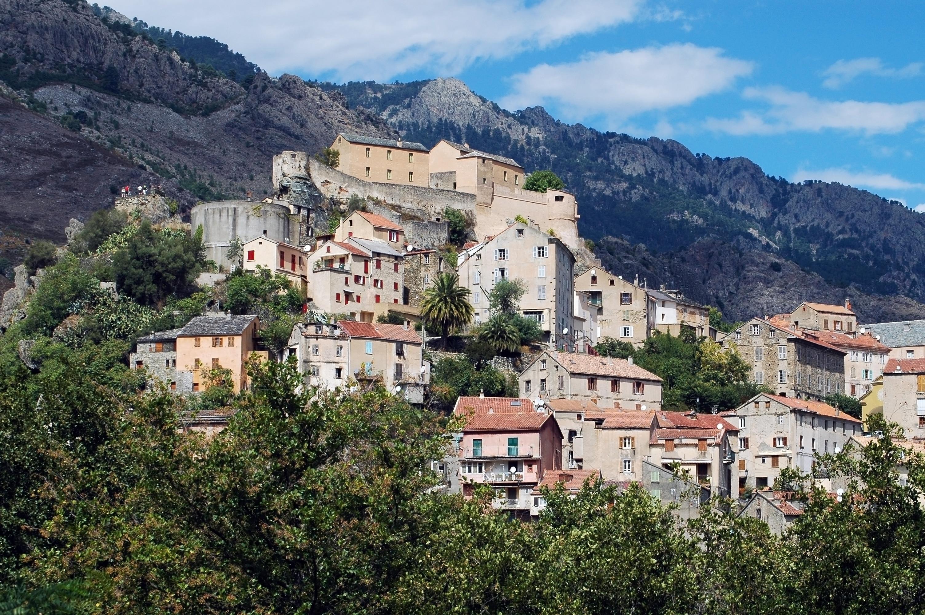 Corte Citadel, Corte, Haute-Corse, France