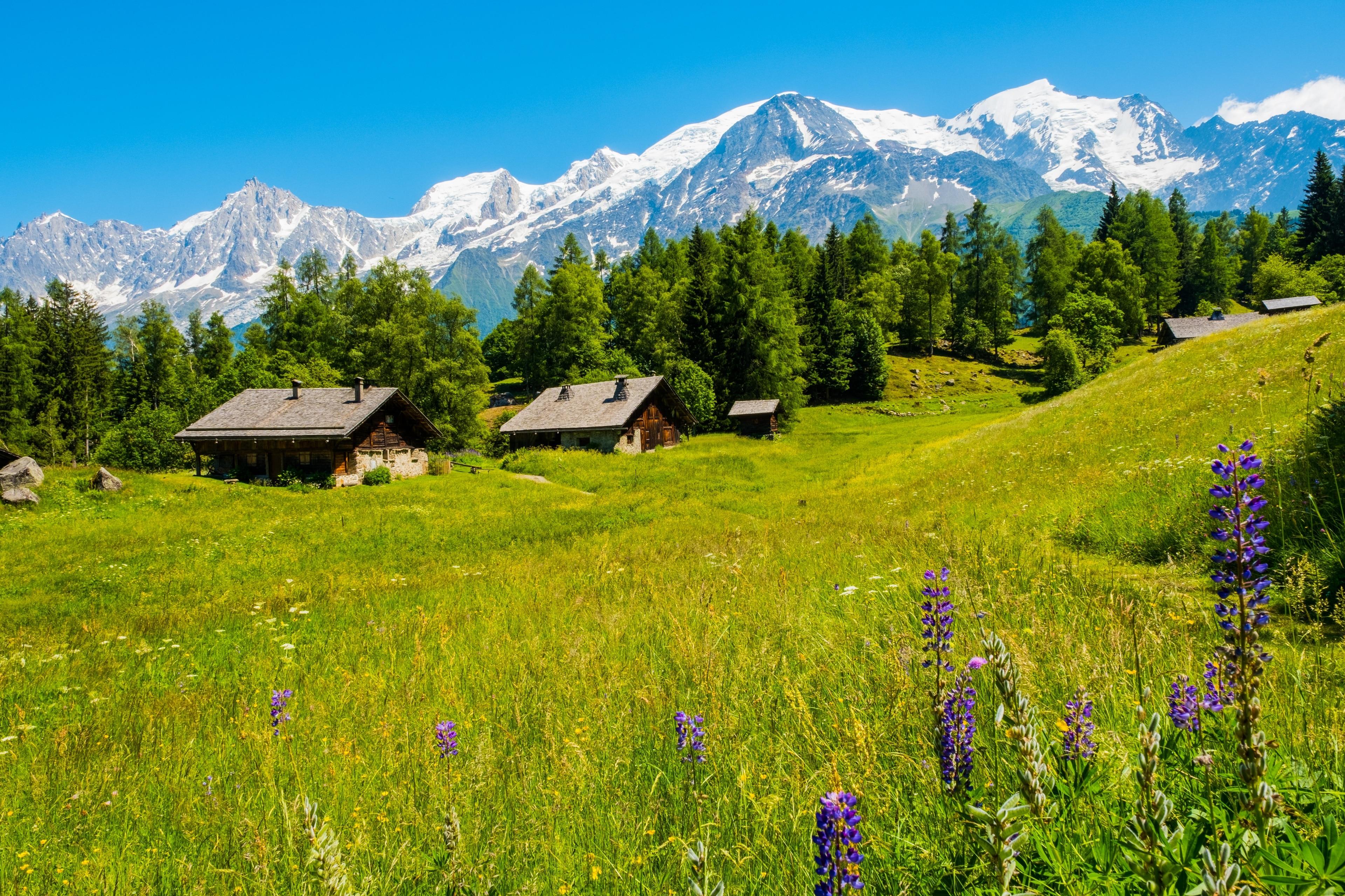 Les Houches, Haute-Savoie, France