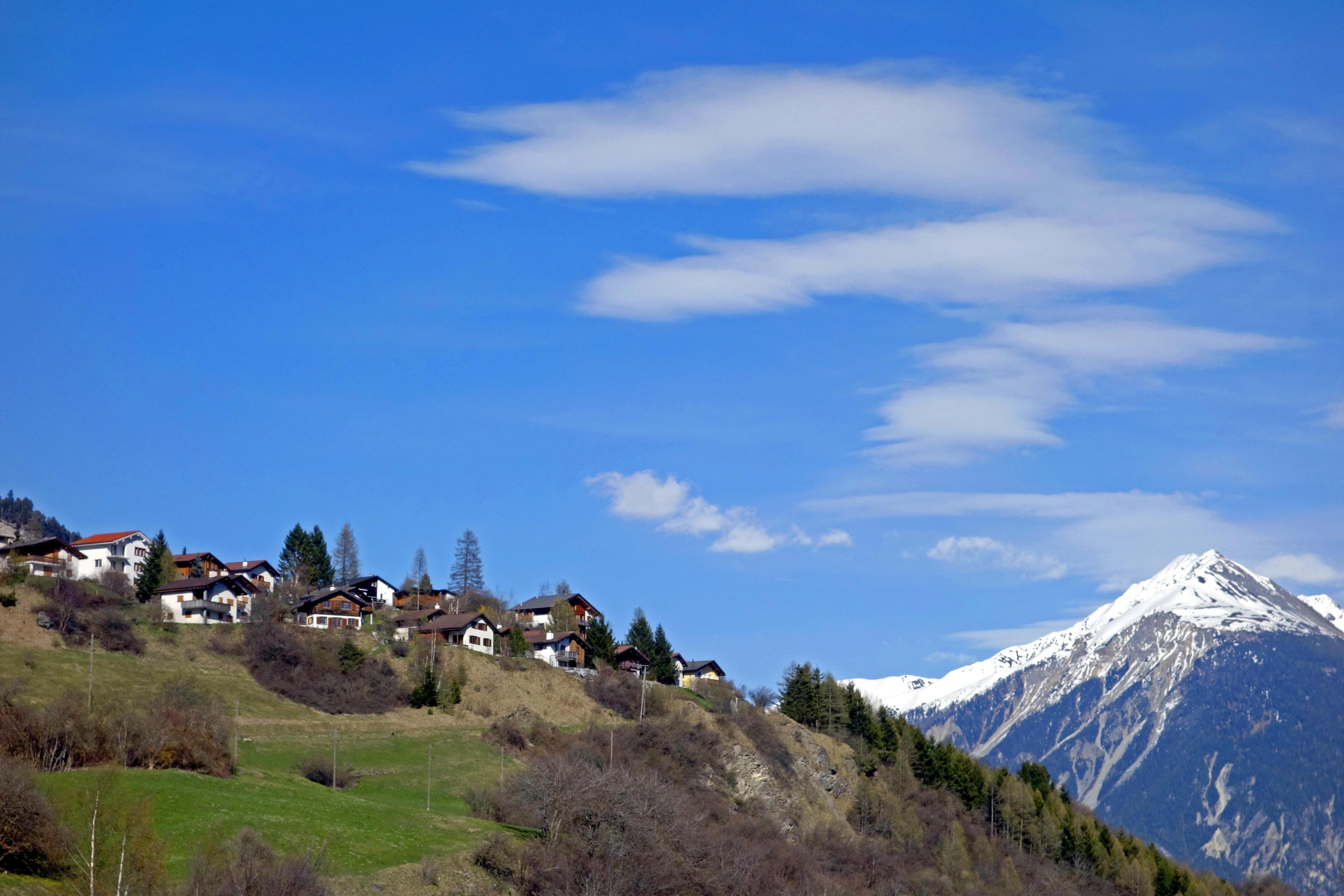 Lantsch/Lenz, Canton des Grisons, Suisse