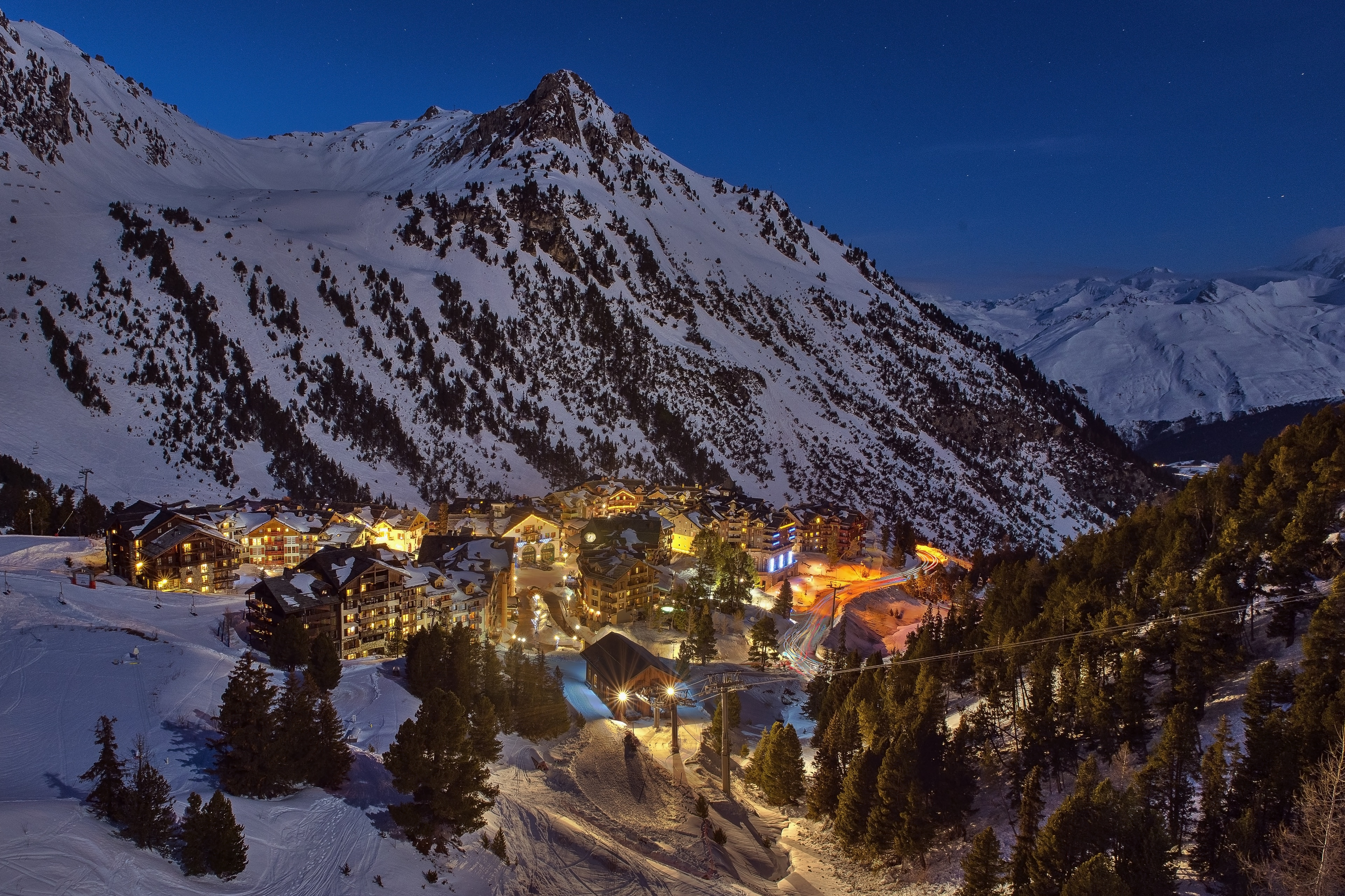 Valloire, Savoie, France