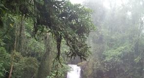 La Paz Waterfall Gardens (zahrady svodopády)