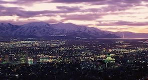 Centre-ville de Salt Lake City
