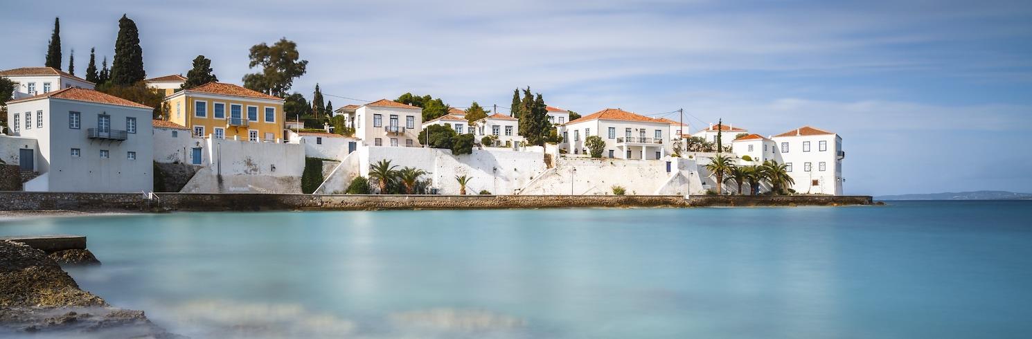 Spetses, Řecko