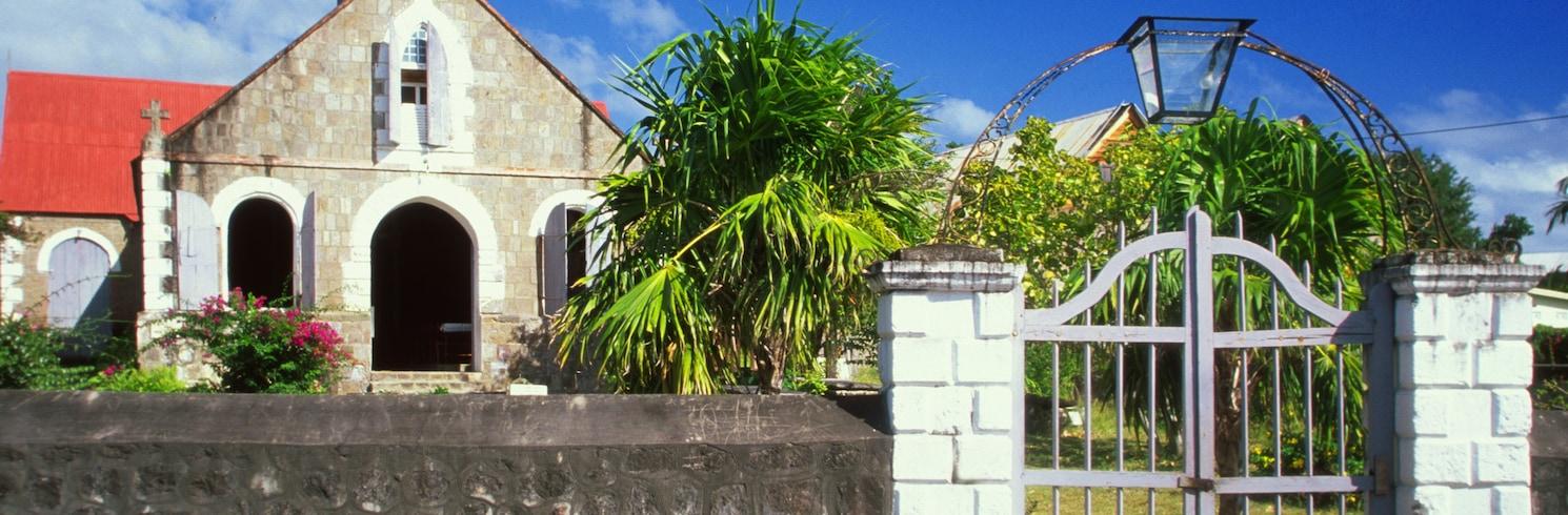 Parroquia de Saint Paul Charlestown, St. Kitts y Nevis