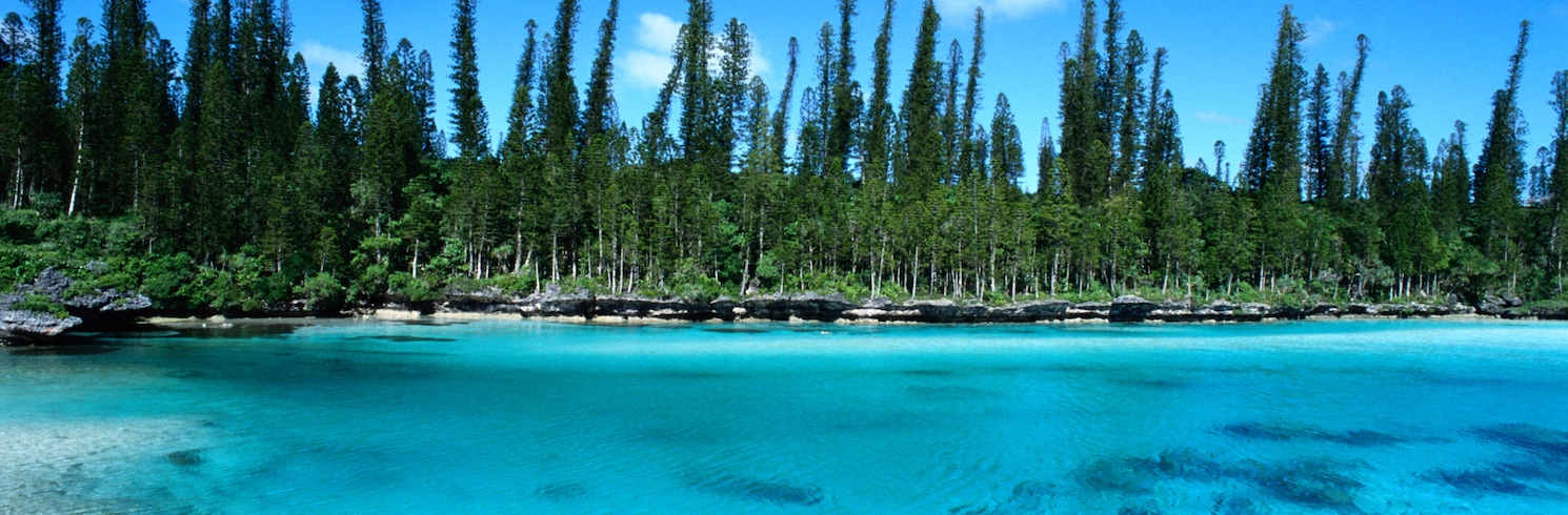 松樹島, 新喀里多尼亞