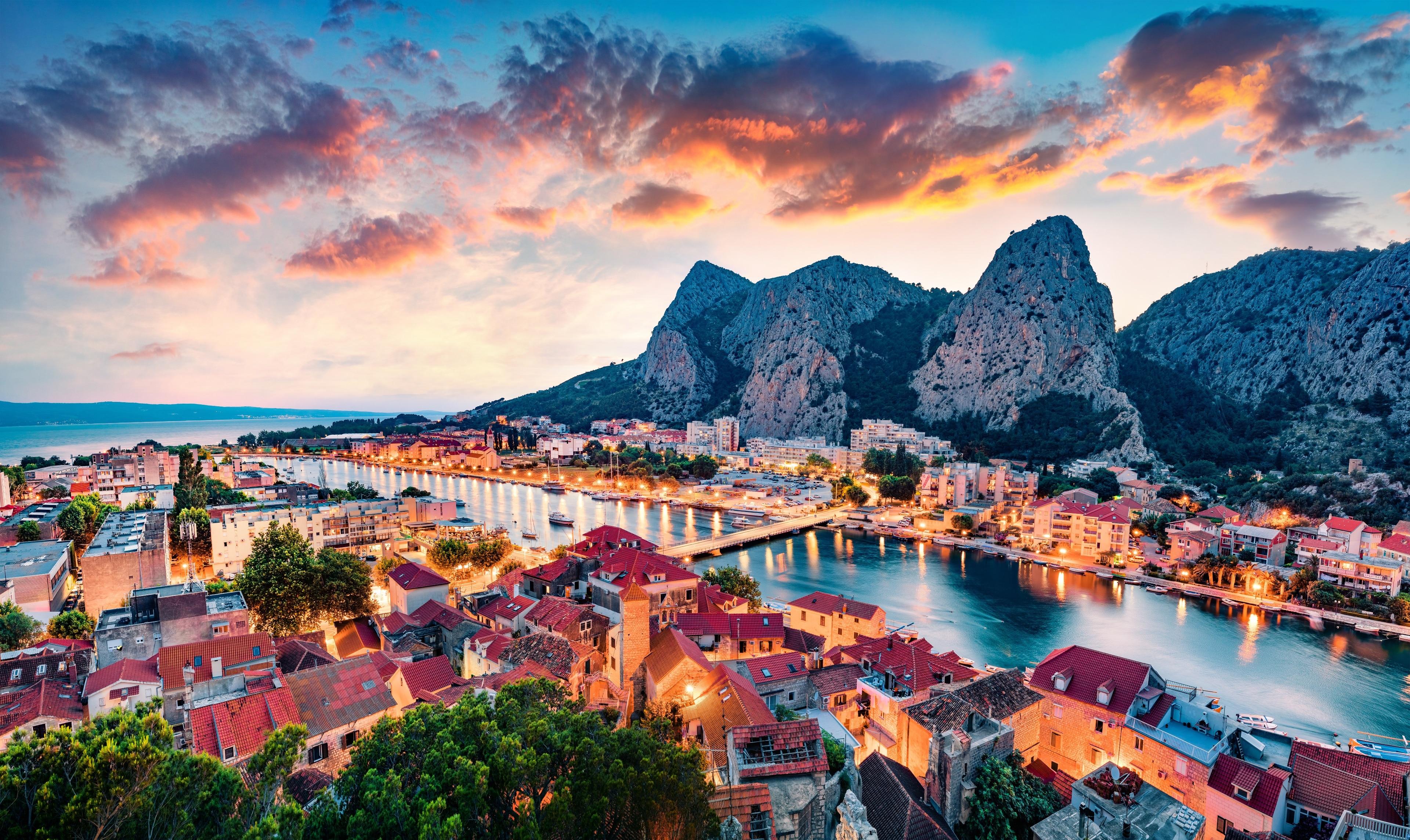Omis, Split-Dalmatien, Kroatien