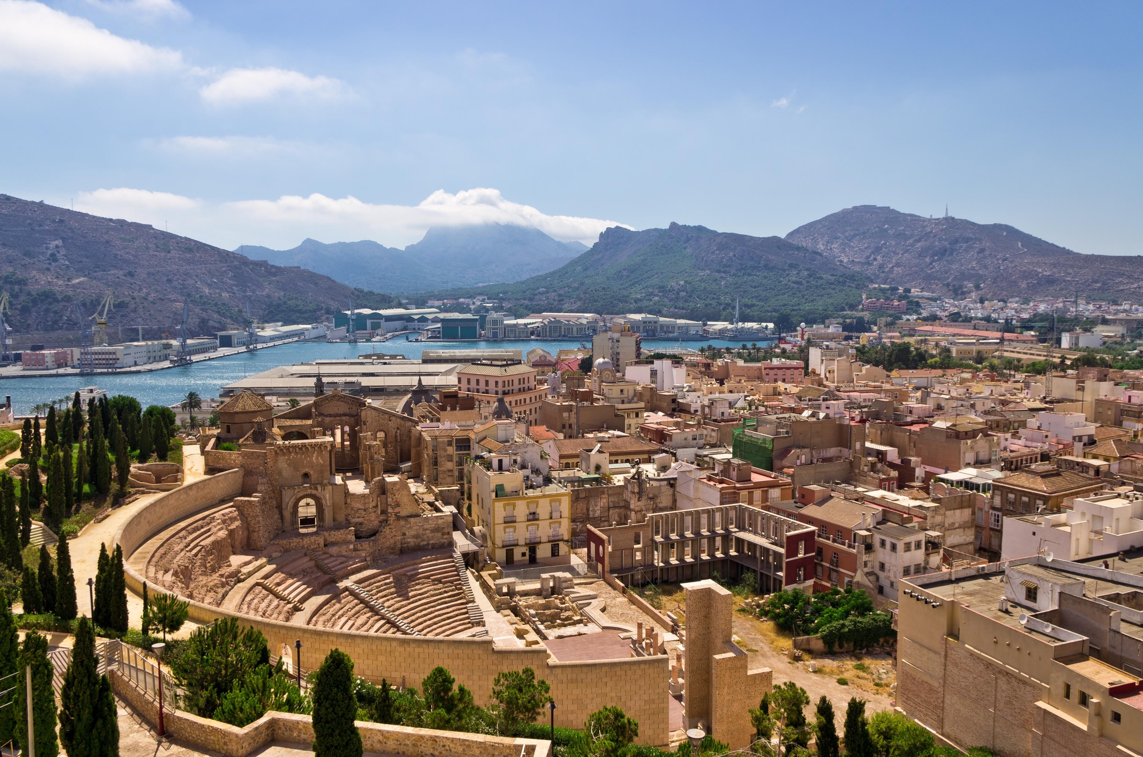 Campo de Cartagena y Mar Menor, Murcia Region, Spanien