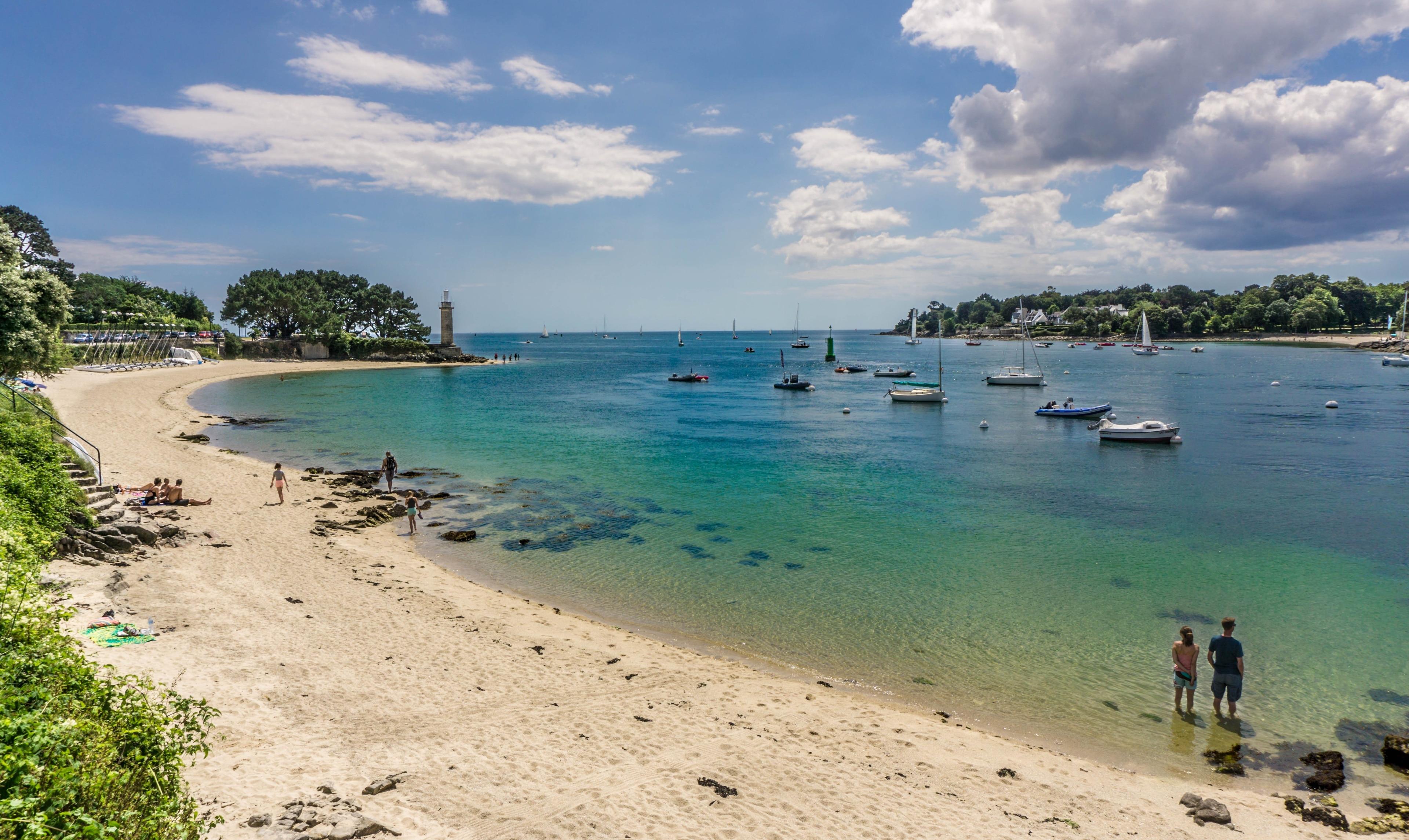 Benodet, Finistère, Frankreich