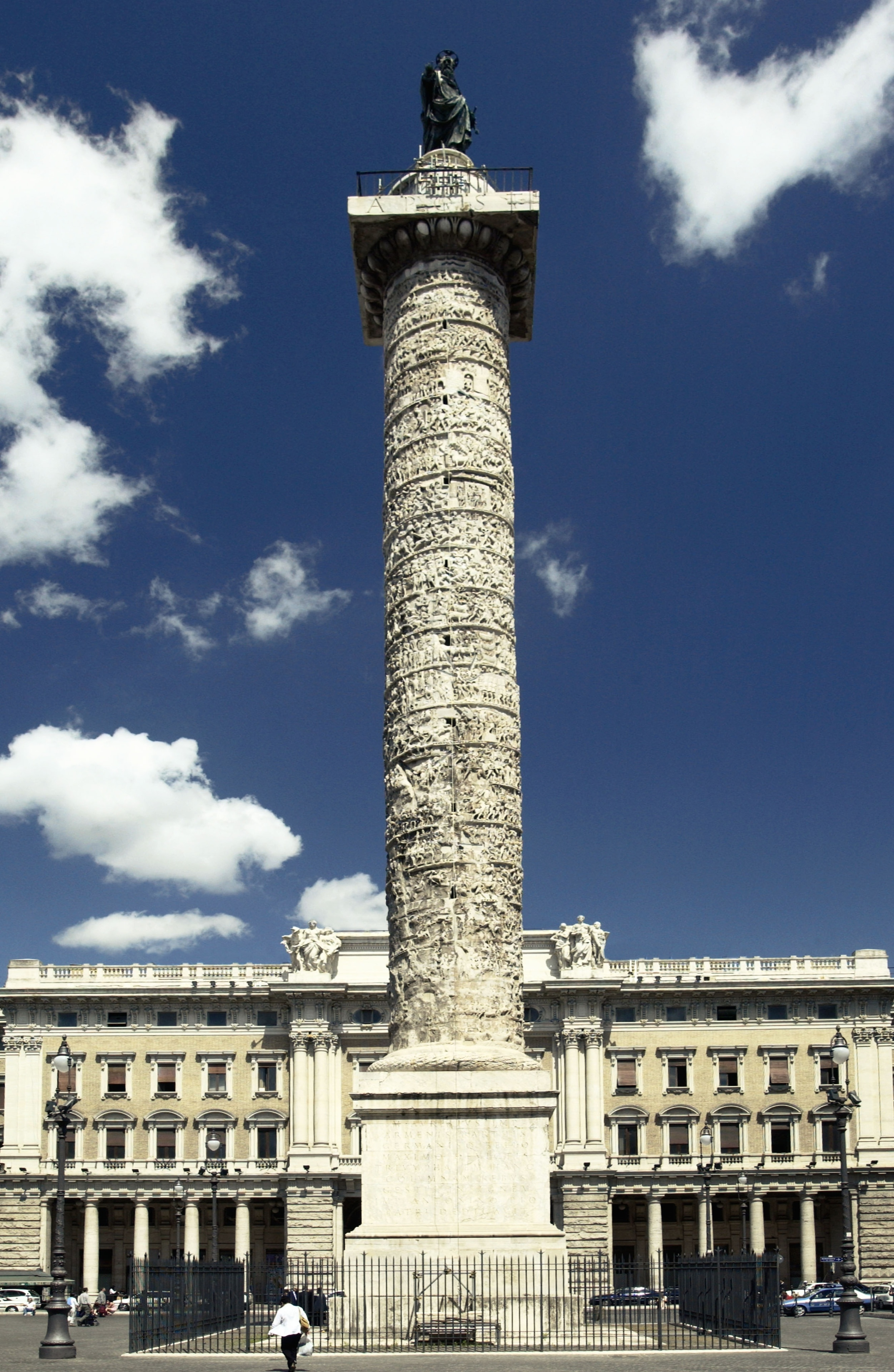 Column of Marcus Aurelius, Rome, Lazio, Italy