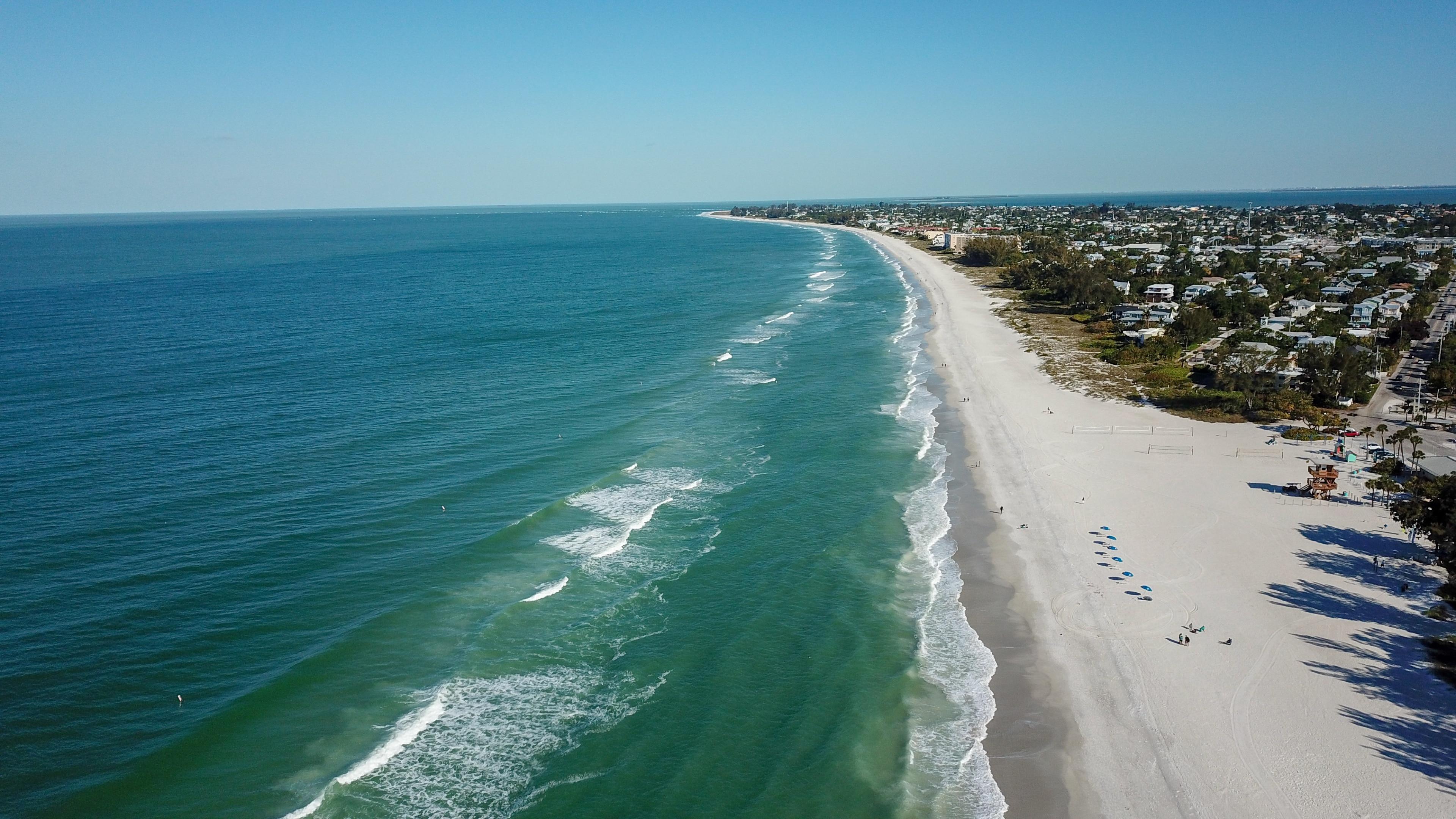 Brandenton Beach, Bradenton Beach, Florida, USA