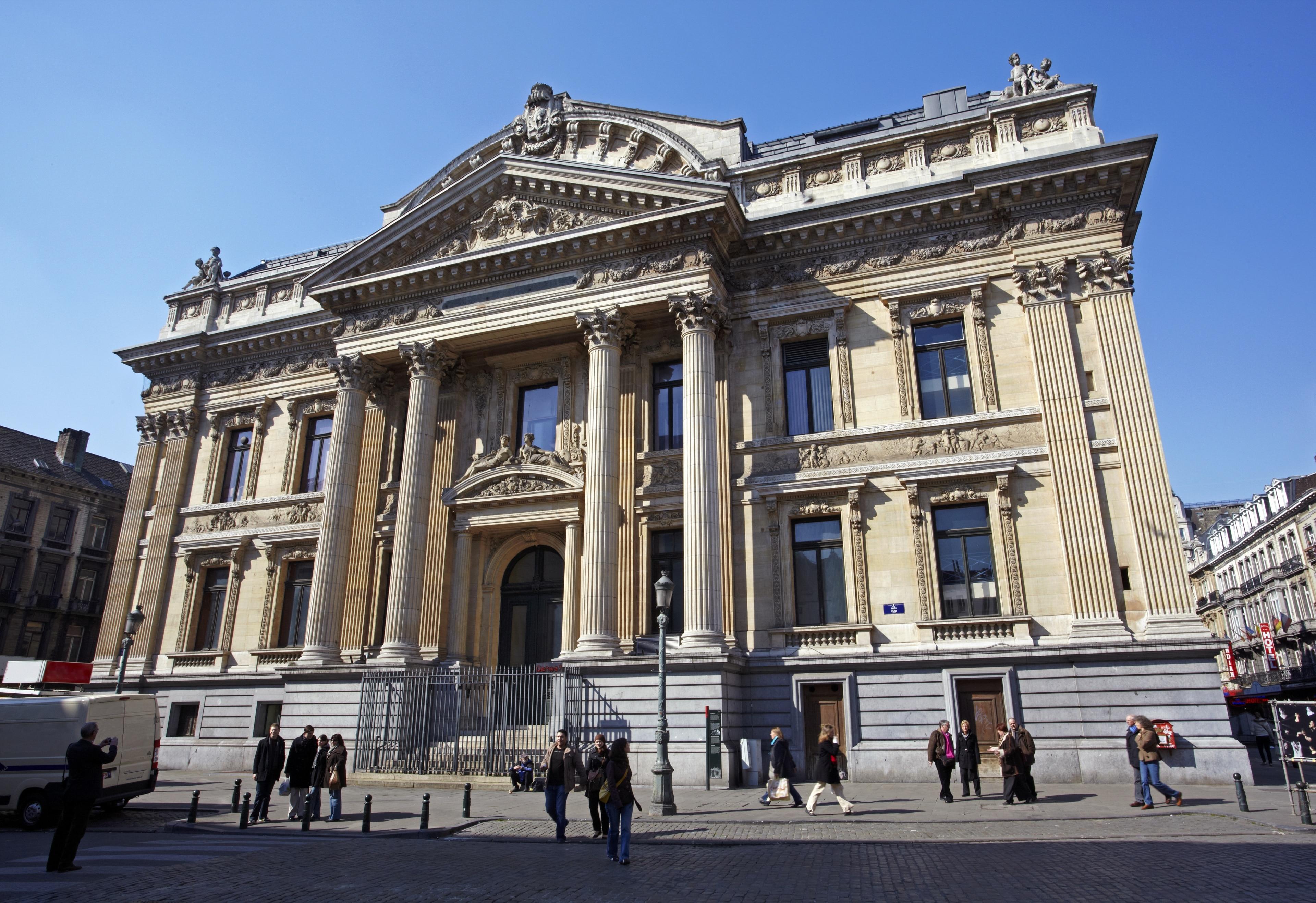 Brussels Stock Exchange, Brussels, Brussels-Capital Region, Belgium