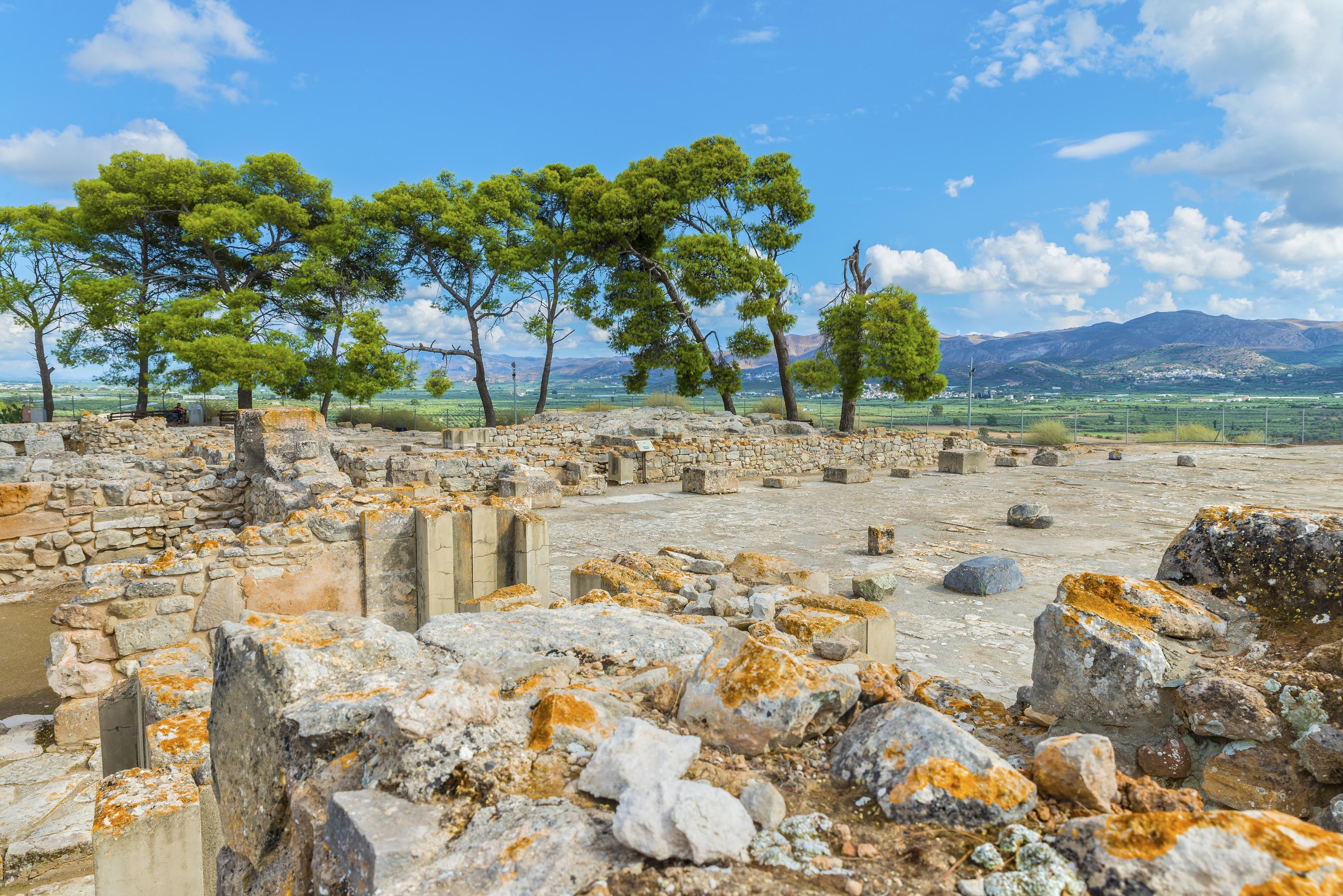 Faistos, Kreta, Griekenland