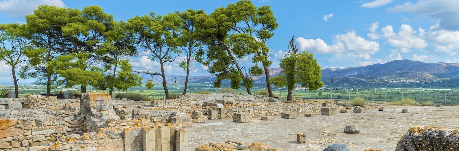 Faistos, Kreikka