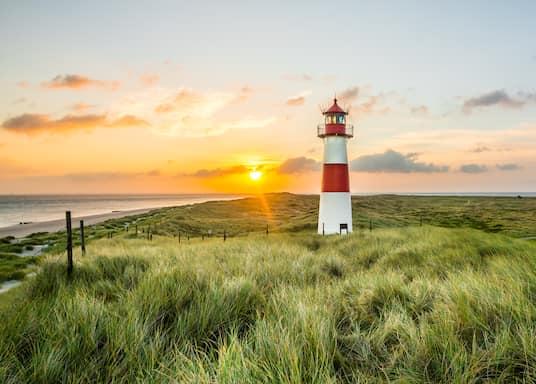 Nordseeküste von Schleswig-Holstein, Deutschland