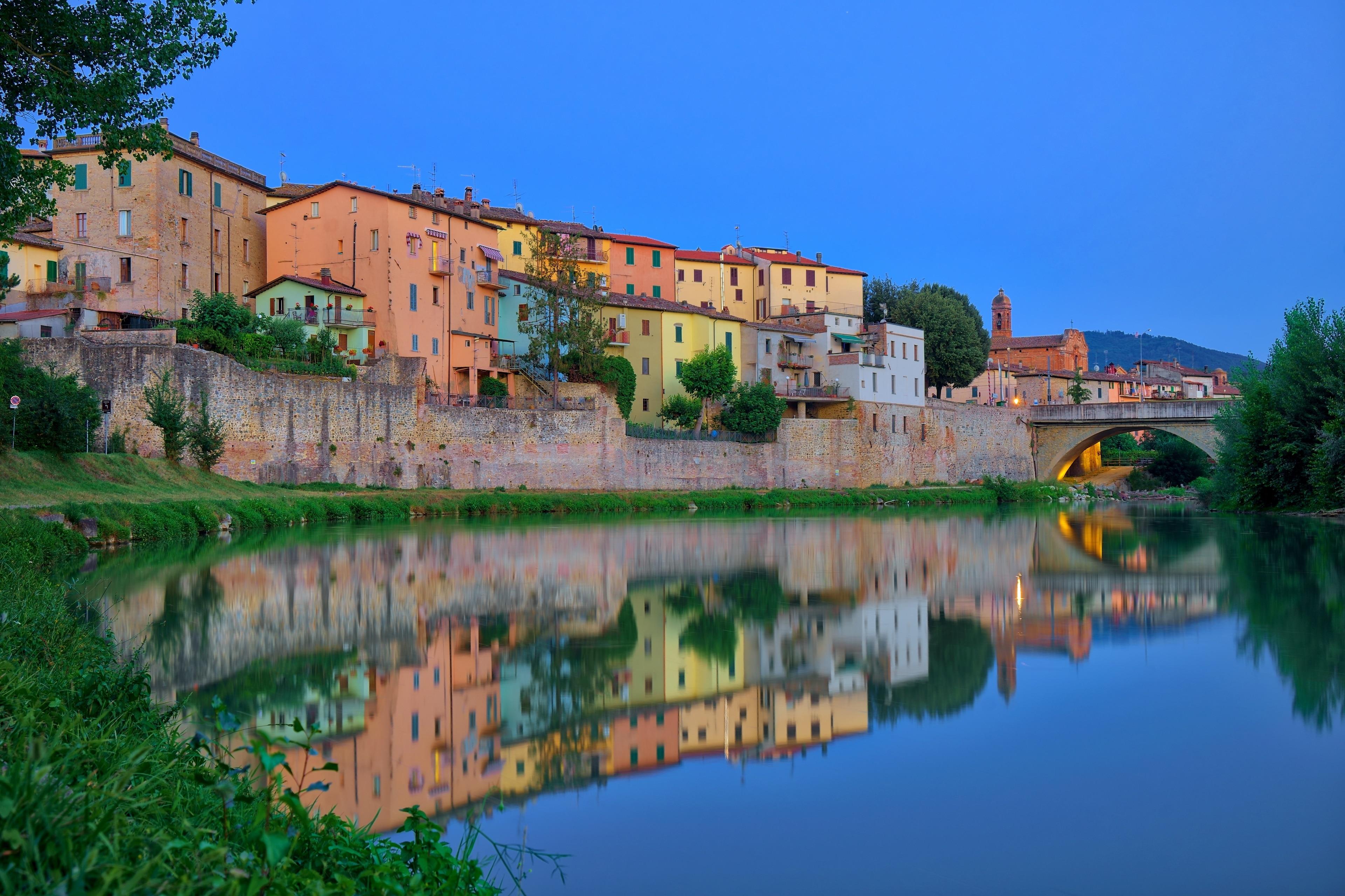 Umbertide, Umbrië, Italië
