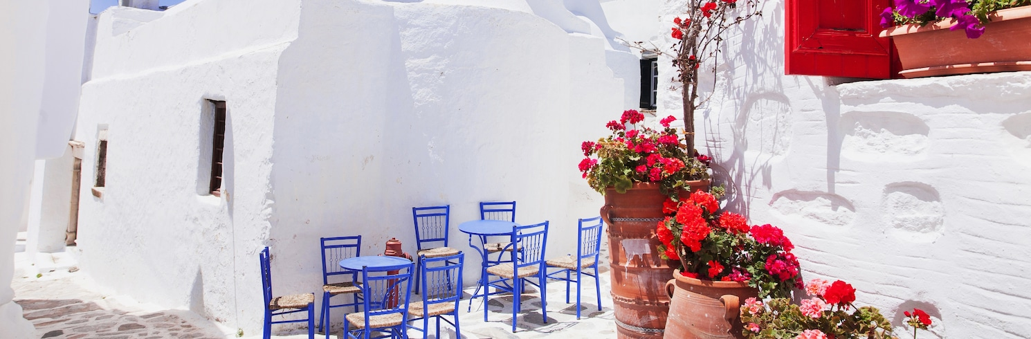 阿莫爾戈斯, 希臘