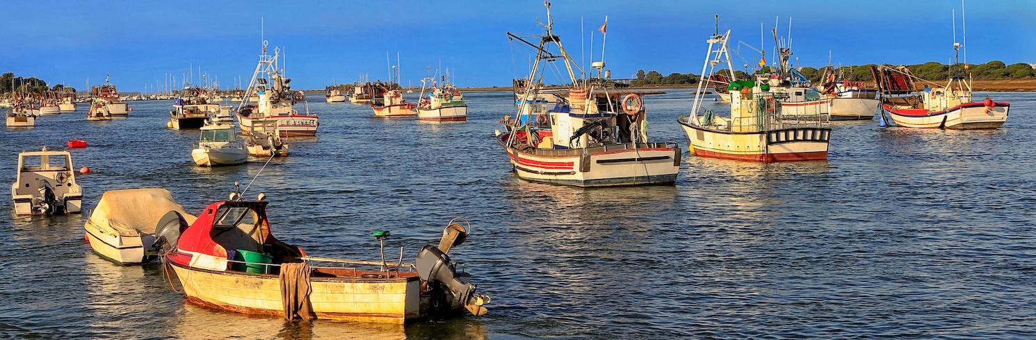 Costa de la Luz Huelva, Spania