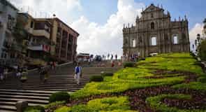 Ruinerna efter S:t Paulus katedral