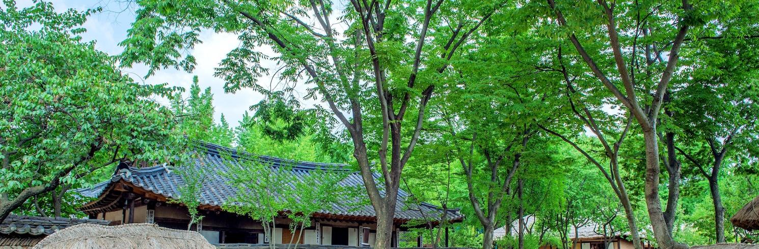 龍仁, 韓国