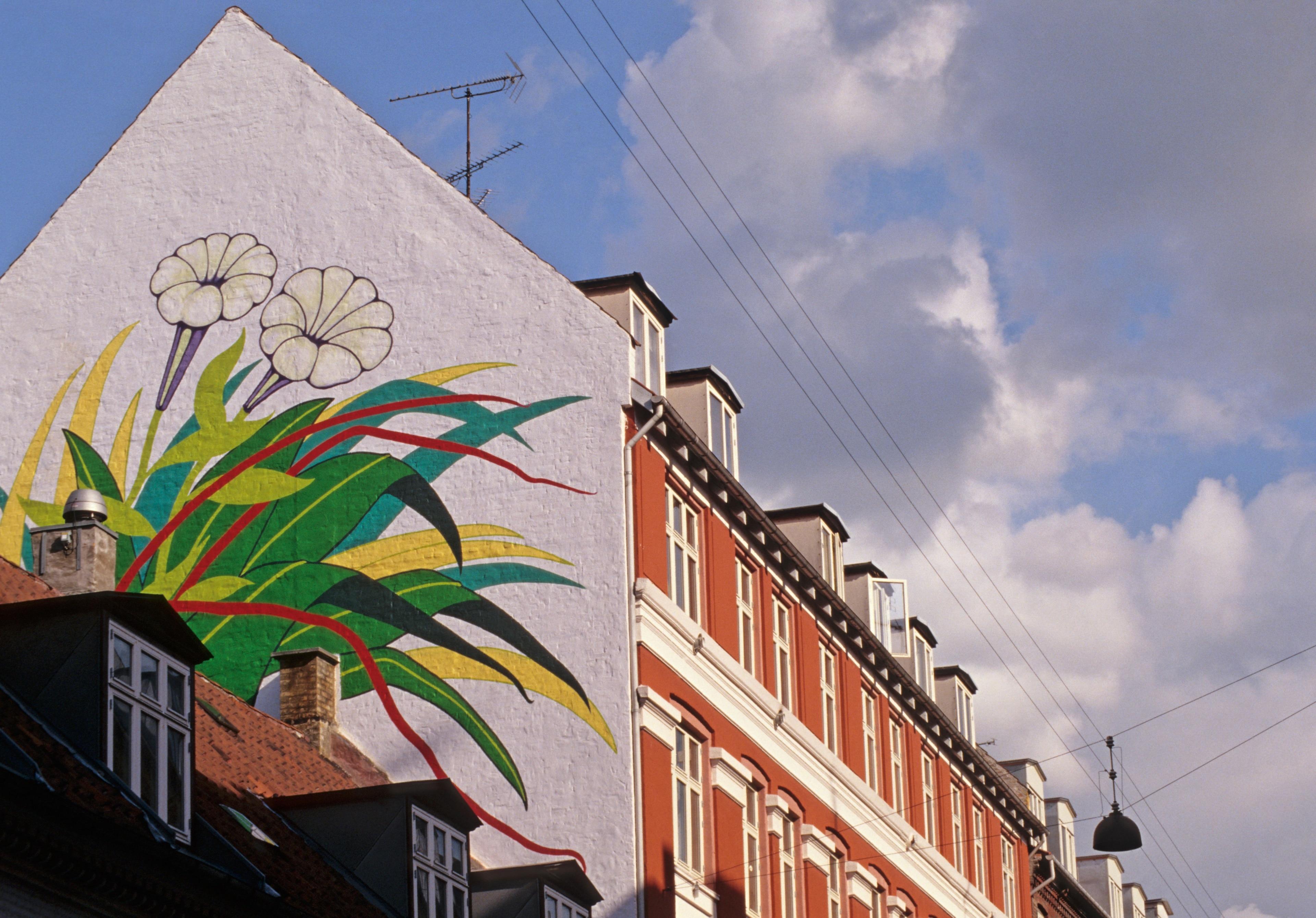 Norrebro, Copenhagen, Hovedstaden, Denmark
