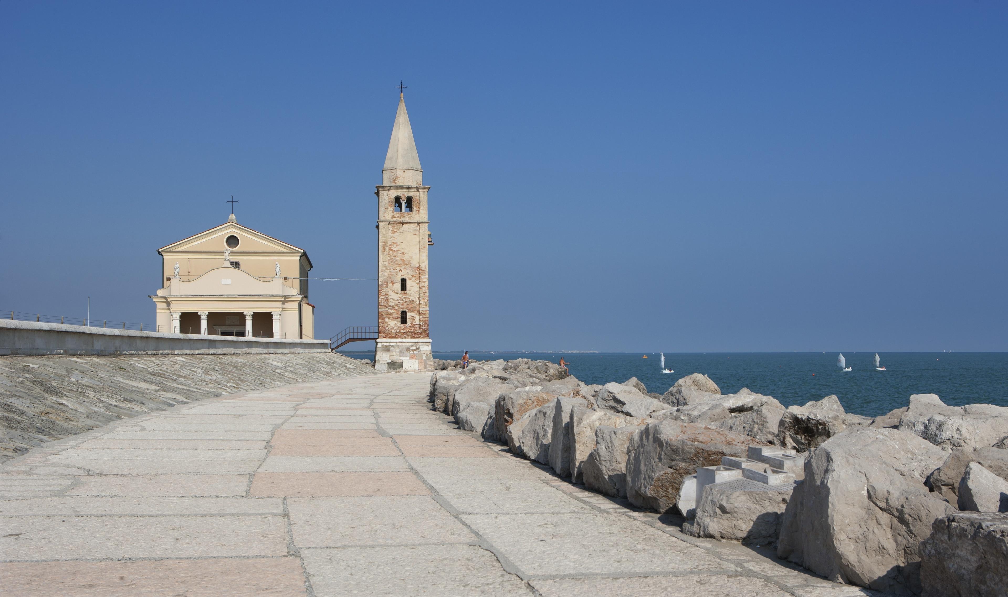 Santuario della Madonna dell'Angelo, Bova Marina, Kalabrien, Italien