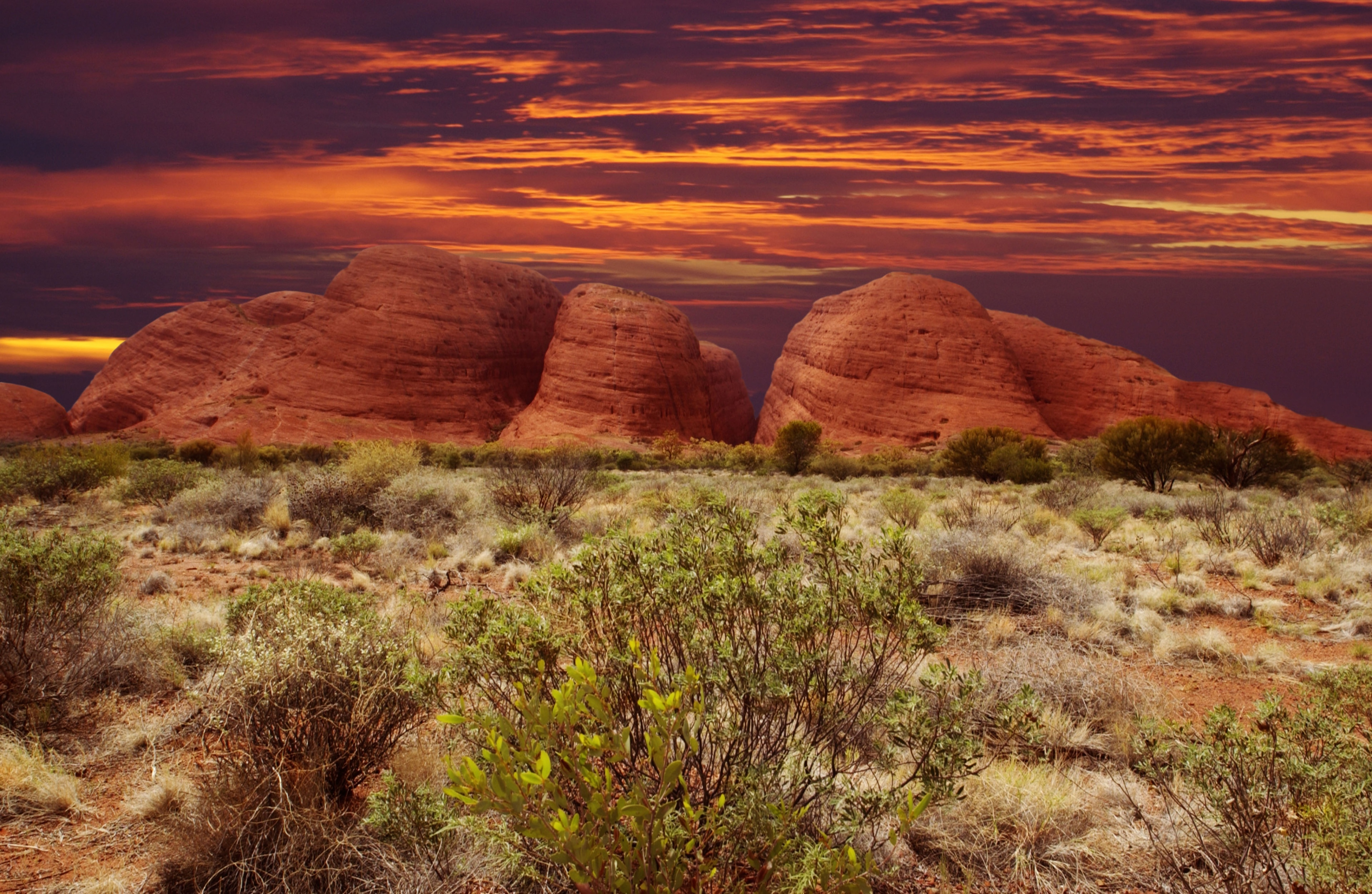 You can find out about the history of Petermann with a trip to Kata Tjuta (The Olgas). Discover the desert landscapes in this family-friendly area or enjoy its local tours.
