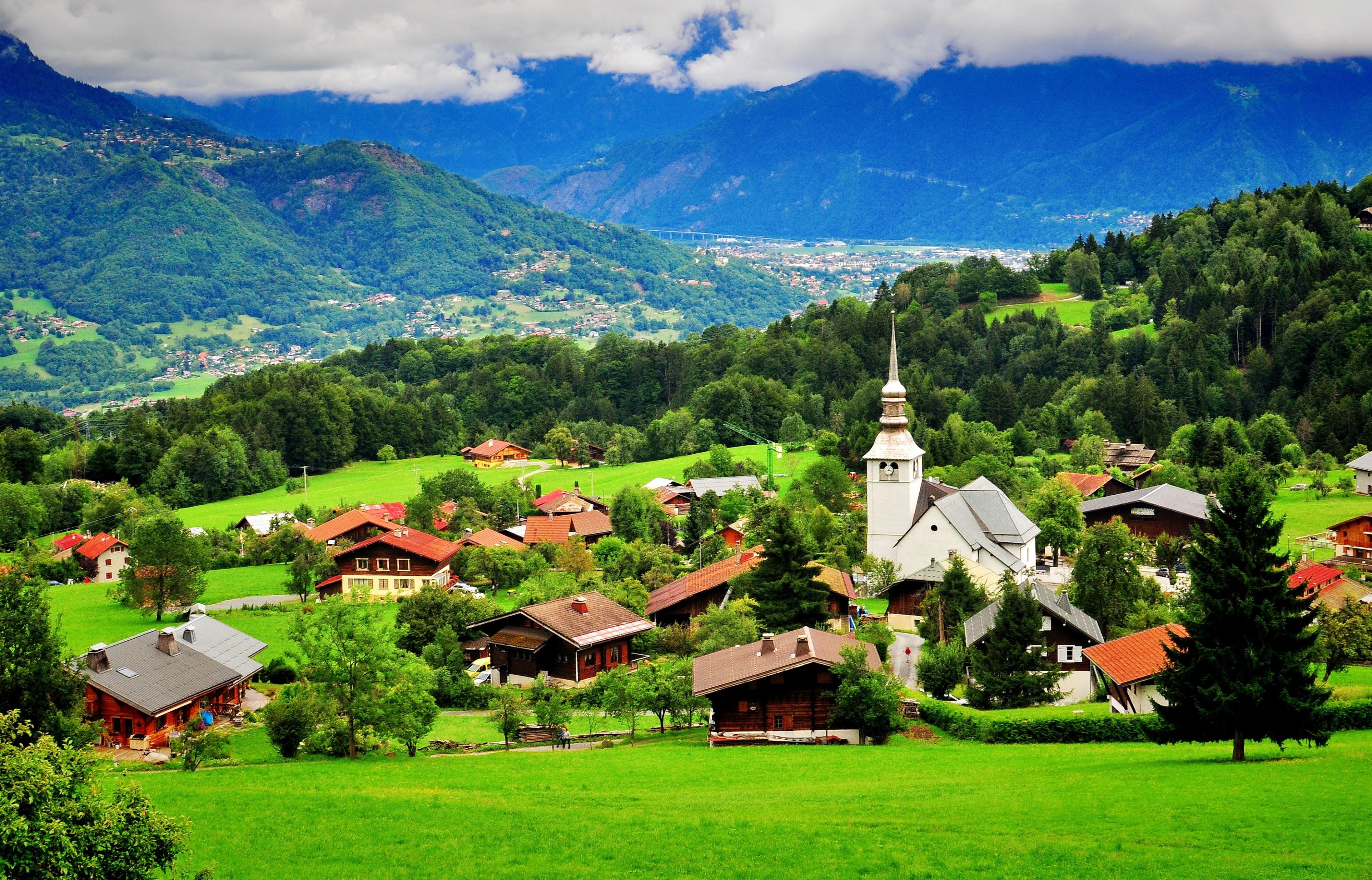 Combloux, Haute-Savoie (Département), Frankreich
