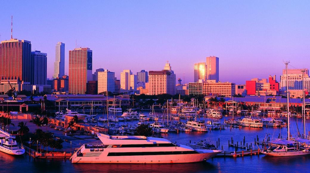 Jachthaven van Miami Beach