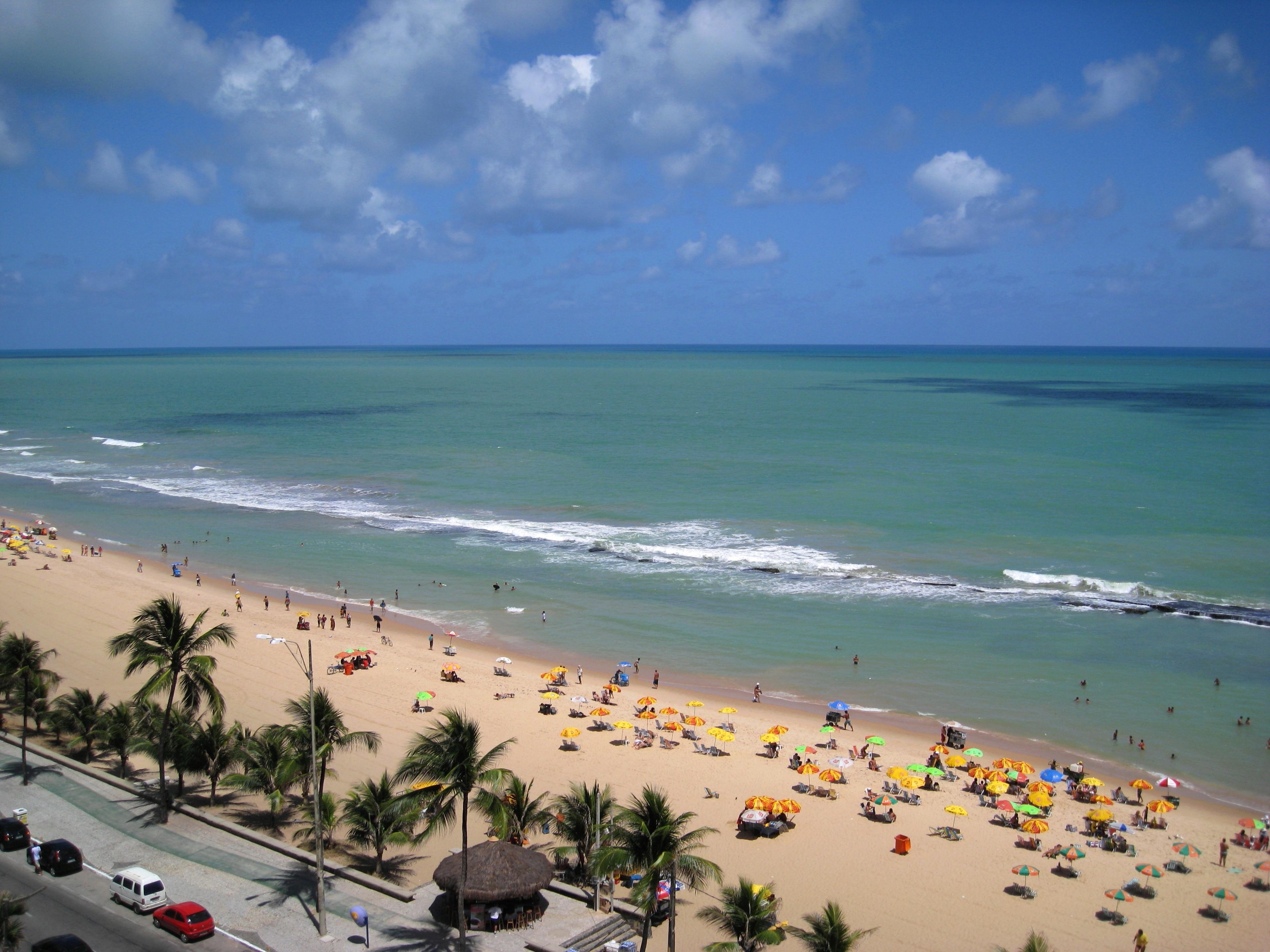 Boa Viagem Beach, Recife, Pernambuco State, Brazil