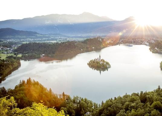 Hồ Bled - Julian Alps, Slovenia