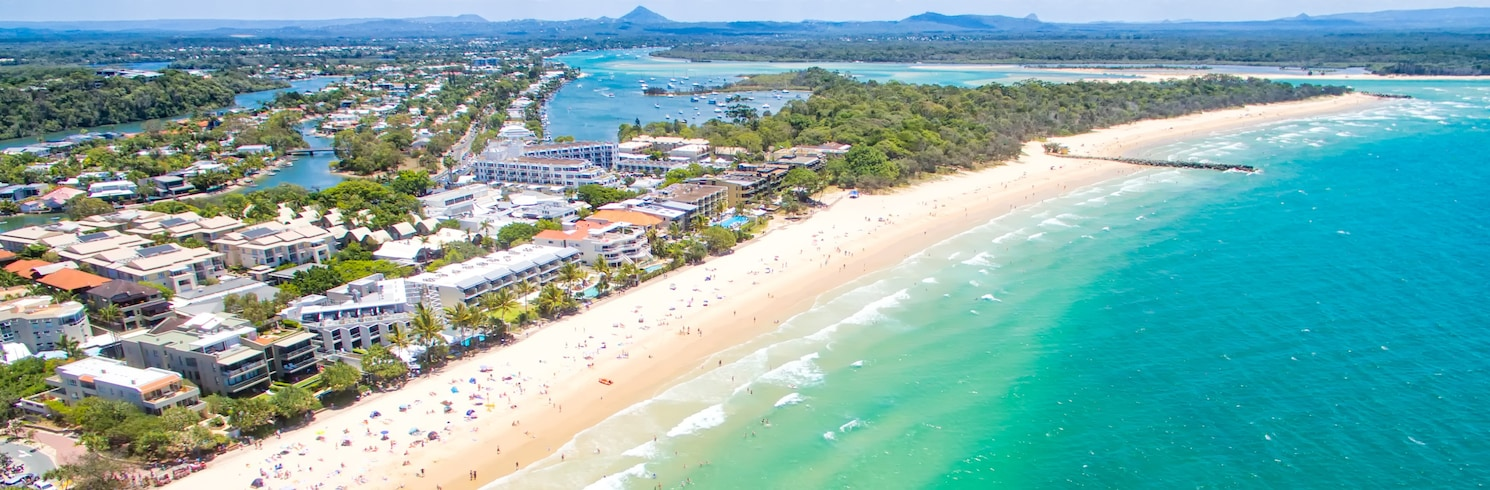 Napfény-tengerpart, Queensland, Ausztrália