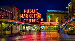 Pike Place Market, Seattle, Washington, De forente stater