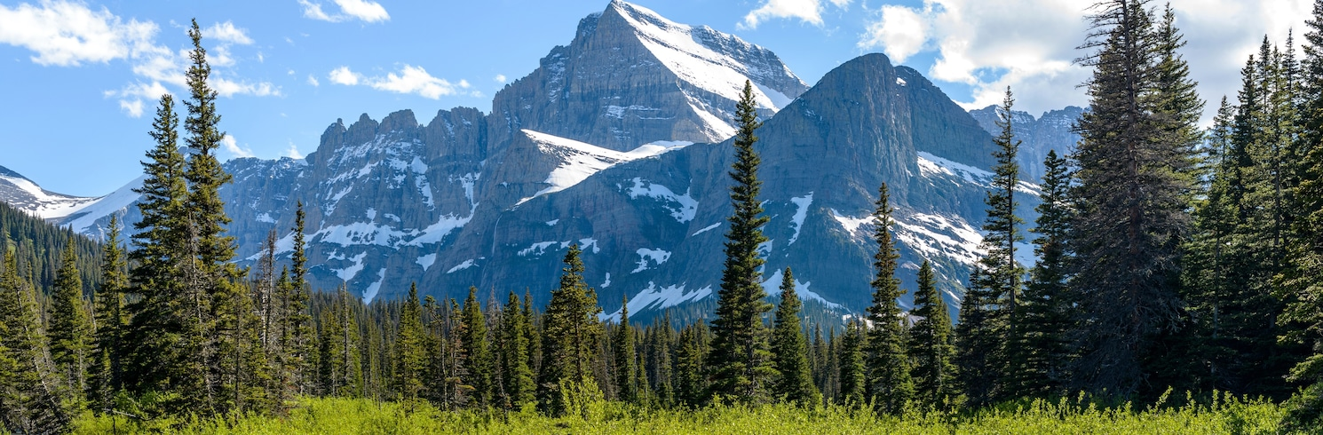 East Glacier Park, Montana, USA
