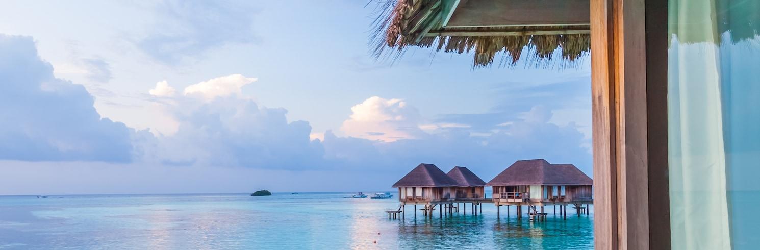 Остров Ланканфуши, Мальдивы