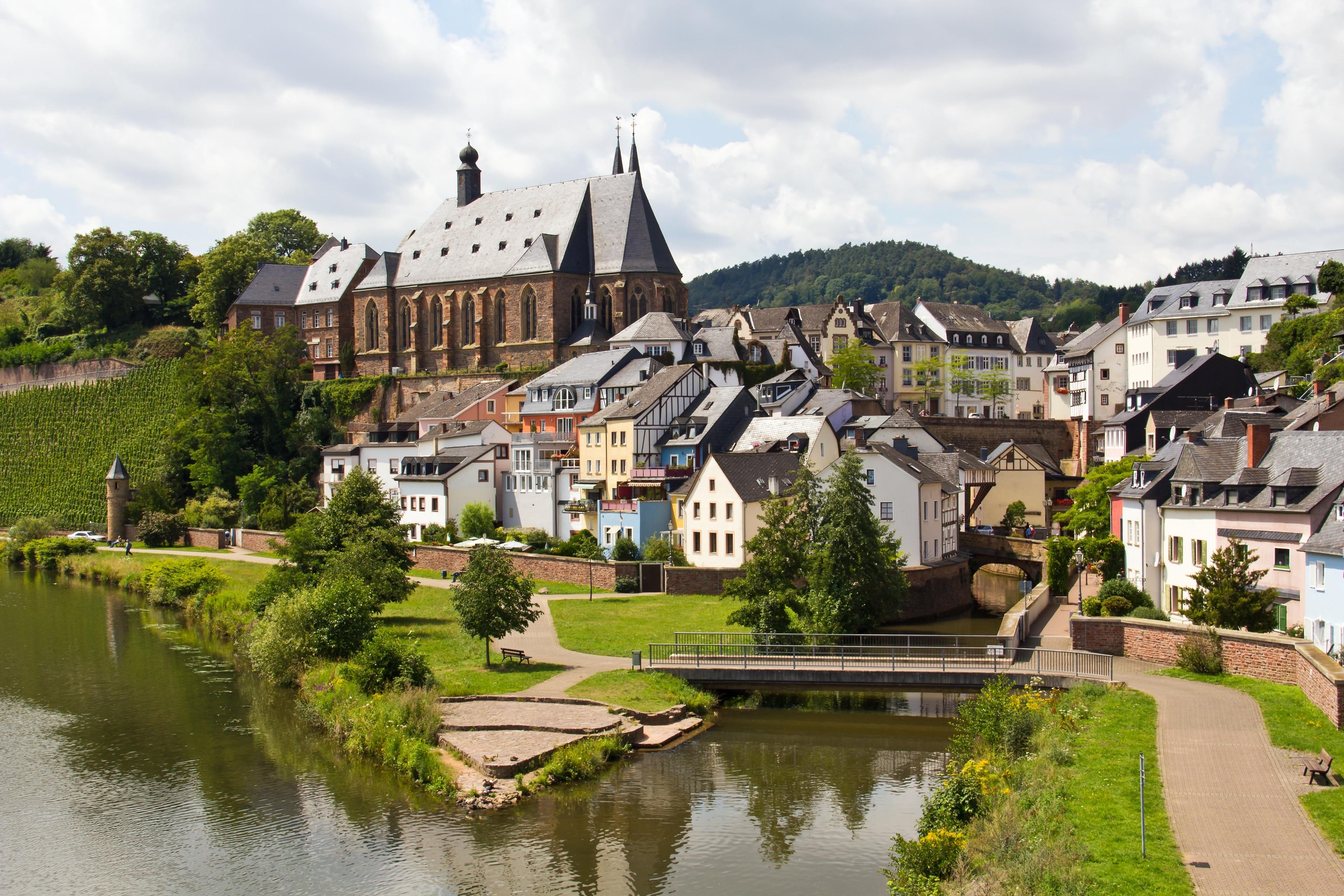 Saarburg, Rheinland-Pfalz, Deutschland