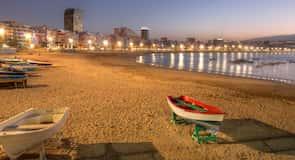 Laskanterasas pludmale