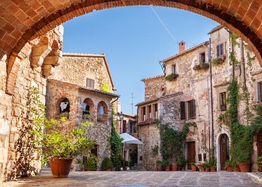Manciano, Italien