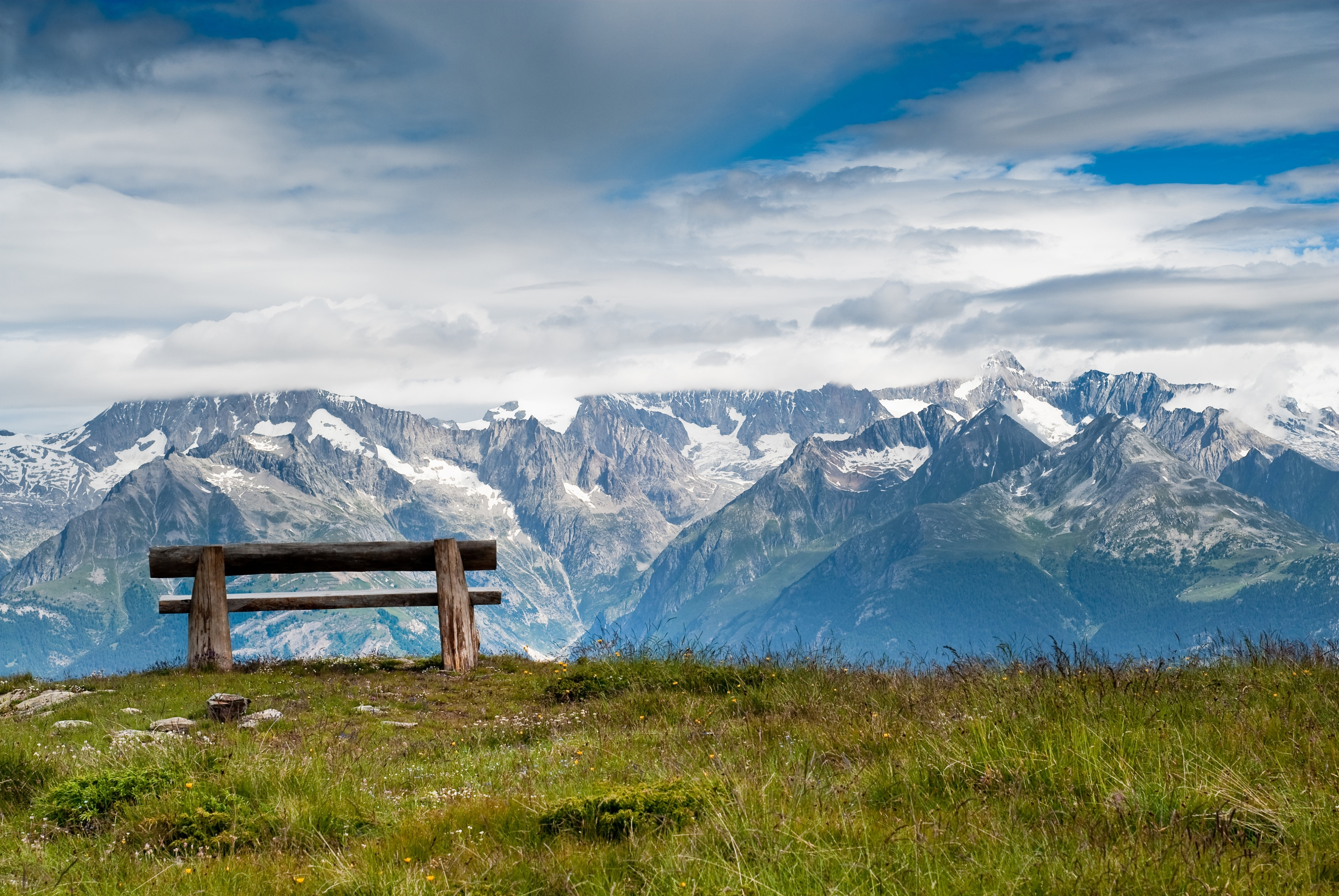 Grächen, Wallis, Schweiz