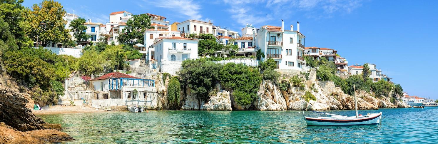 Skiathos Town, กรีซ