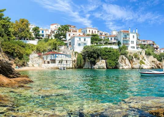 Bandar Skiathos, Greece