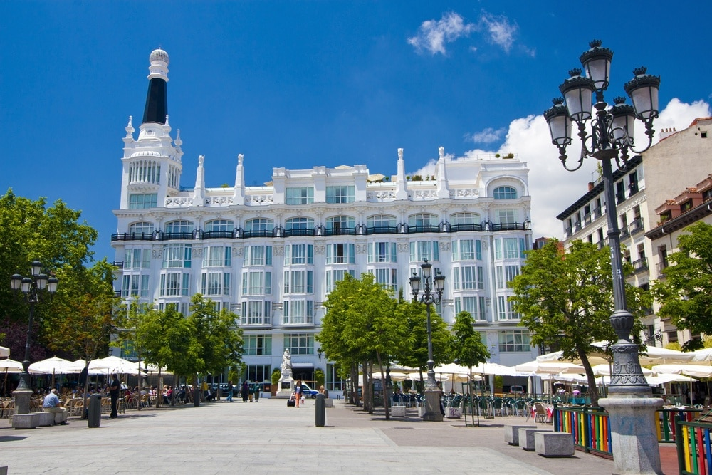 Plaza de Santa Ana, Madrid, Community of Madrid, Spain