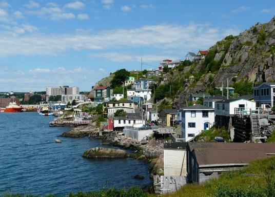 The Battery, Newfoundland (Újfundland) és Labrador, Kanada