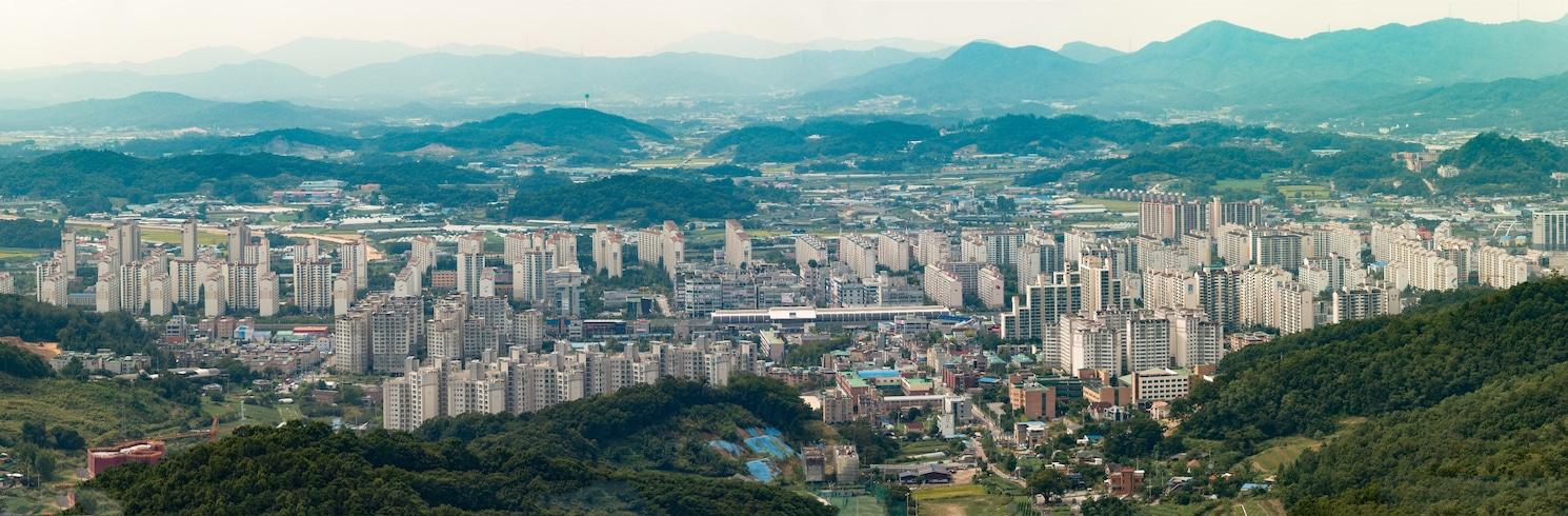 東豆川, 韓國
