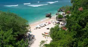 Strand von Padang Padang