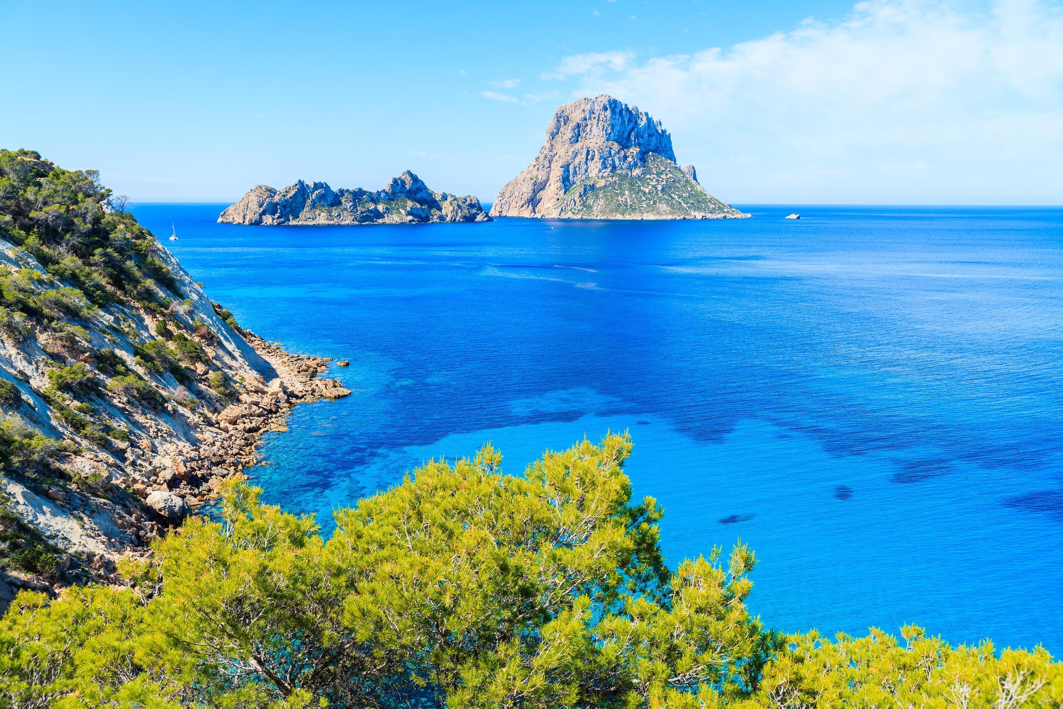 Illa de es Vedranell, Sant Josep de sa Talaia, Balearic Islands, Spain