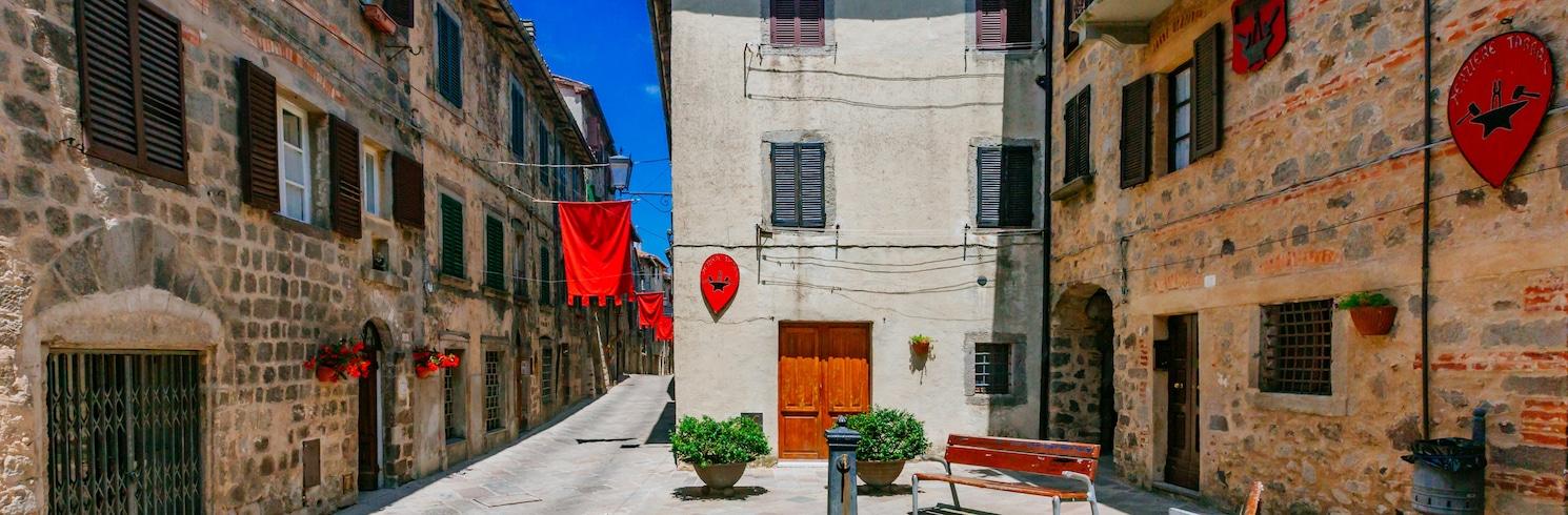 阿巴迪亞聖薩爾瓦多, 義大利