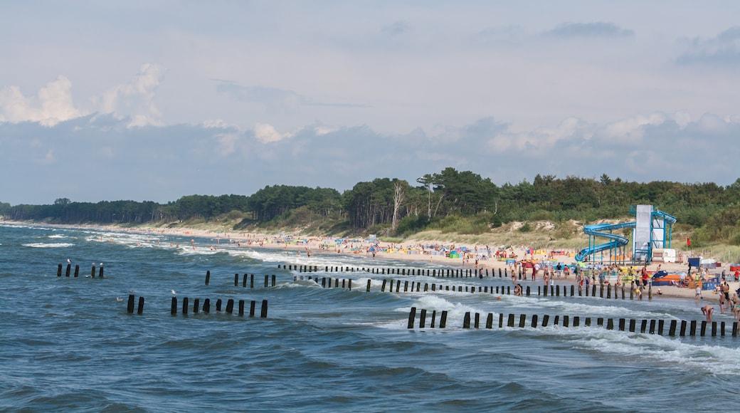 Strand von Kolobrzeg